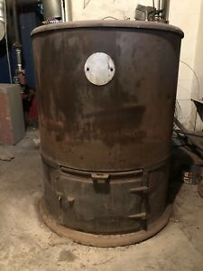 Lot Of 3 Wood Burning Cast Iron Stoves American Boiler Fdry Co Majestic No30