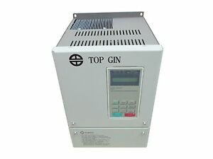 Top Gin 7 5kw 10hp Motor Inverter Vfd Variable Frequency Drive 380v