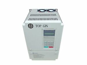Top Gin Motor Inverter 220v Variable Frequency Drive Vfd 7 5kw 10hp Ac 3ph