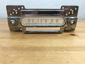 Vintage Oem 1960 s Ford F100 F250 Truck Early Bronco Radio Face Plate