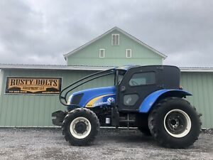 2012 New Holland T5070 4x4 Orchard Tractor 115 Hp Low Cost Shipping Rates