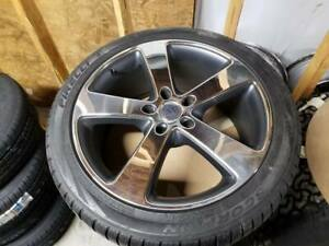 Set Of 4 20 Porsche Cayenne Wheels Rims W 275 40r20 Pirelli Scorpion Snow Tires