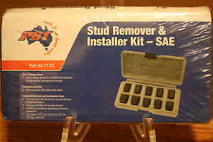 Stud Remover And Installer Kit Sae Brand New Pbt Part No 71121 10pc Piece