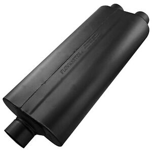 Flowmaster 70 Series Muffler 3 00 Center In 2 50 Dual Out Mild Sound