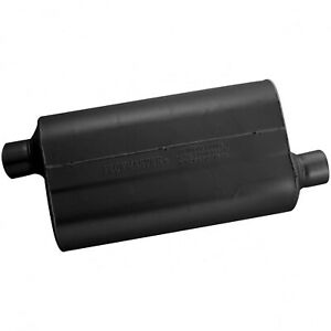 Flowmaster Super 50 Muffler 2 50 Offset In 2 50 Offset Out Mild Sound