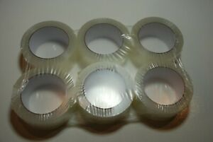 36 Rolls Carton Sealing Clear Packing 2 Mil Shipping Box Tape 2 X 110 Yards