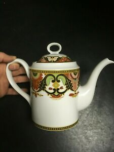 Imperial Imari By Briard Georges Coffee Teapot Red Gold Black Green Decor