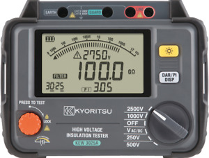 Kyoritsu 3025a 2 5kv Digital High Voltage Insulation Tester