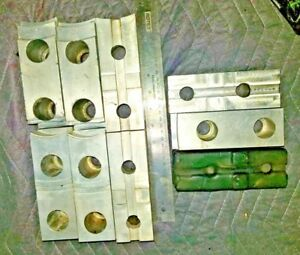 3 Sets Of Aluminum Jaws For Lathe Chuck See Description