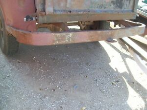 50 S Ford Truck Stepside Rear Farm Type Bumper