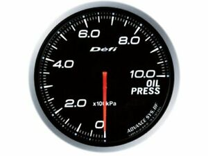 Defi Df10201 Advance Bf Gauge White Illumination 60mm Oil Pressure