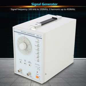 Tsg 17 High Frequency Signal Generator Rf radio frequency 220v 110v Mf