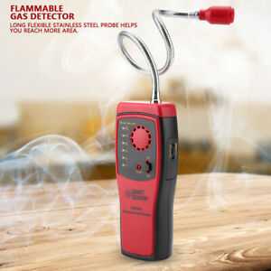 Combustible Flammable Natural Gas Propane Leak Detector Tester Leakage Analyzer