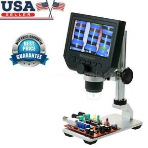 Digital 1 600x 3 6mp 4 3inch Hd Lcd Display Microscope Continuous G600