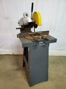 Kalamazoo Industries Km 10 3 Industrial Abrasive Mitre Saw 10 Inch 3 Phase