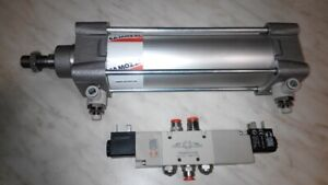 Pneumatic Camozzi 60n2l063a0150 63x150 Pneumatics Cylinder With Valve