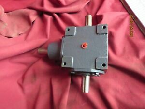 Hub City 0220 00906 165 1 1 Ratio Gearbox Reducer Right Angle Style Ab