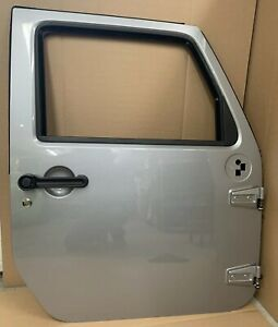 Jeep Wrangler Jk Door Right Front 12 17 Oem Complete Gray Grey Silver Unlimited