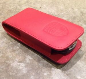 Porsche Leather Key Case Cover Boxster Cayman 911 Panamera Cayenne Macan