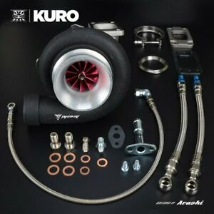 Kuro 4 Gt3582r Gt35r Dual Ball Bearing Turbo A r 1 06 T3 V band Stainless