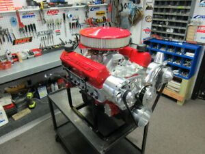 Sbc 383 Cubic Inch Stroker Crate Engine 400hp Efi Complete Engine