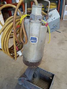 Gorman rupp S3b1 230 460 3p Submersible Pump Slimline 3 Discharge