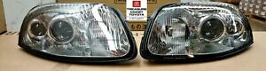 New Oem Toyota Supra 1994 1998 Euro Style Front Headlights 2 piece Set