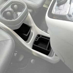 Fits Chrysler Pacifica 2017 19 Center Console Black Waterproof Organizer Inserts