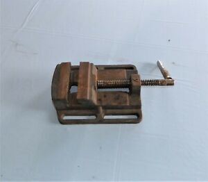 Machinist Drill Press Vise 4 Inch X 4 Inch Free Shipping