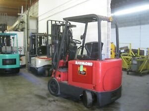 Kalmar 3 Wheel Sit Down Electric Forklift 3 Stage Mast Side Shift