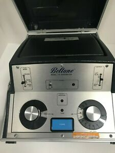 Beltone Special Instruments Audiometer Portable Model 119 Not Complete Untested