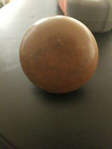 Vintage Heavy Copper Door Knobs Cast Antique 2 1 4 Diameter