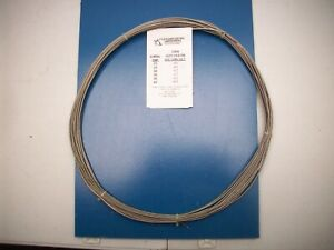 6 Thermocouples Type T 507 Wire Steel Mesh Outer Cover 55ft Long 660 Inches