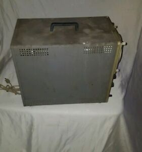 Vintage Heathkit Model 10 12 Laboratory Oscilloscope As Is For Parts Or Repair