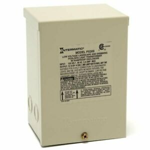 Intermatic Px300 Transformer 1 Phase 300va 12v Out