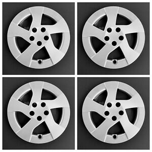 New 2010 2014 Fits Toyota Prius 15 Silver Wheel Covers Hubcaps Set Of Four