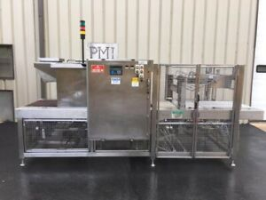 Pmi Model Si tw 30ss Stainless Steel Tray Shrink Wrapper Heat Tunnel