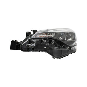 Fits 17 19 Toyota Corolla Bumper Mounted Led Drl Drivers Headlight 8115002m90