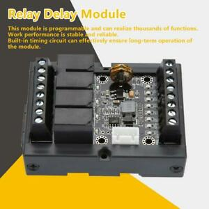 Plc Industrial Control Board Fx1n 10mr Programmable Relay Delay Module Withshell