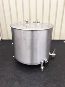 Perma san 200 Gallon Stainless Steel Tank Foodgrade