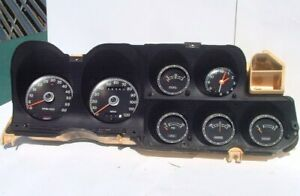 1972 73 Ranchero Tach And Gauges Instrument Cluster Oem Ford Gran Torino 72 Dash