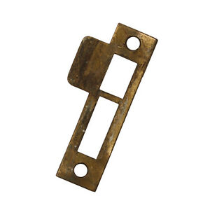 Antique Strike Plates For Mortise Locks 1 8 Spacing Nstp64