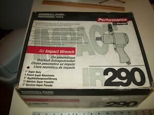 Ingersoll Rand Air Impact Wrench 1 Super Duty Ir 290 New In Box Made In Usa