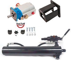 Mtd Build Kit 4 5 Trunnion Cylinder 918 0769a Fast 16 Gpm Pump Mount Coupler