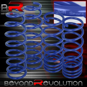 For 2013 2014 2015 2016 2017 Honda Accord Blue Front Rear Lowering Springs Set