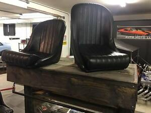 Bomber Seats Low Back Bucket Style
