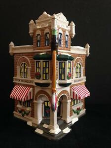 Dept 56 Coca Cola Corner Drug Store 1995 #5484-4 Retired