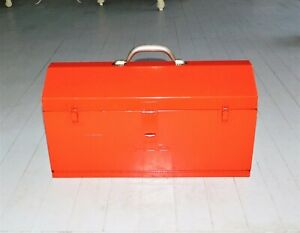 Snap On Kra 21 21 Metal Tool Box W 2 Drawers And Removable Tote Tray