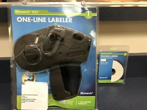 Monarch 1131 One Libe Label Gun With Replacement Roll Nib