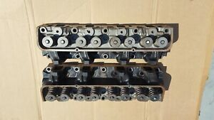Ford Mercury 427 Fe Big Block Medium Riser R Code W Code Cylinder Heads C5aef
